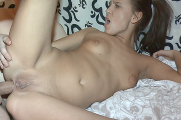 Dick worshipped by pussy and asshole